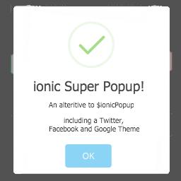 Ionic Super Popup