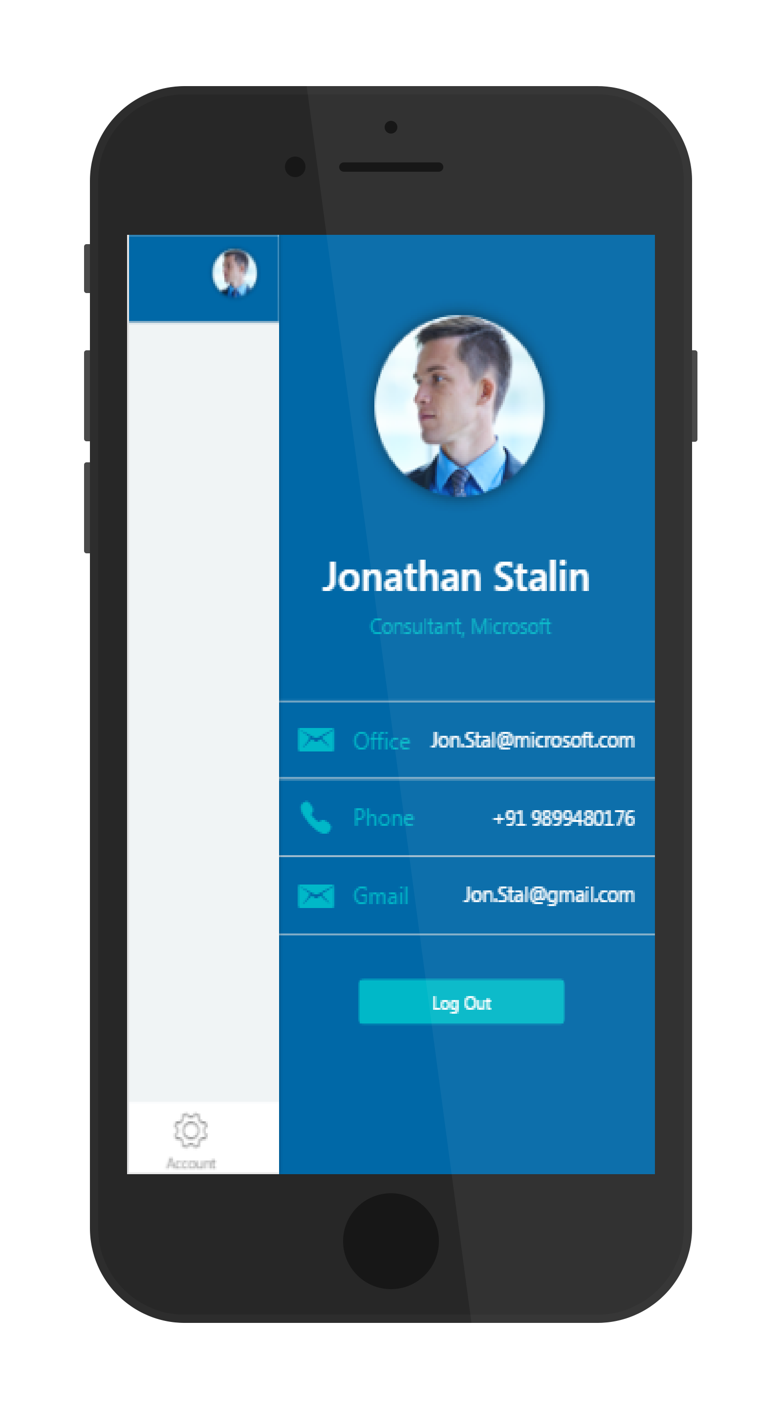 Ionic User Profile Side Menu Plugin With Example Full Application