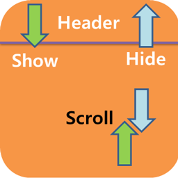 Ionic2 hide and show header with scrolling