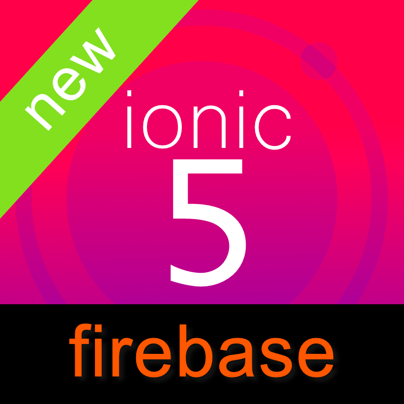 ionic5 fullapp themes with firebase backend