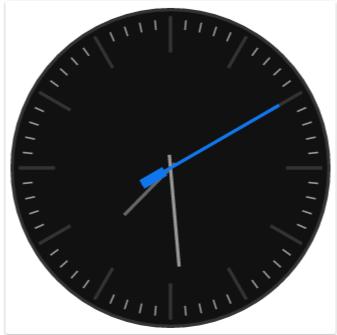 IonicFramework Analog Clock