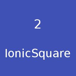 Ionic Square