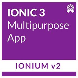 Ionium 2 - Ionic Multipurpose App and Templates