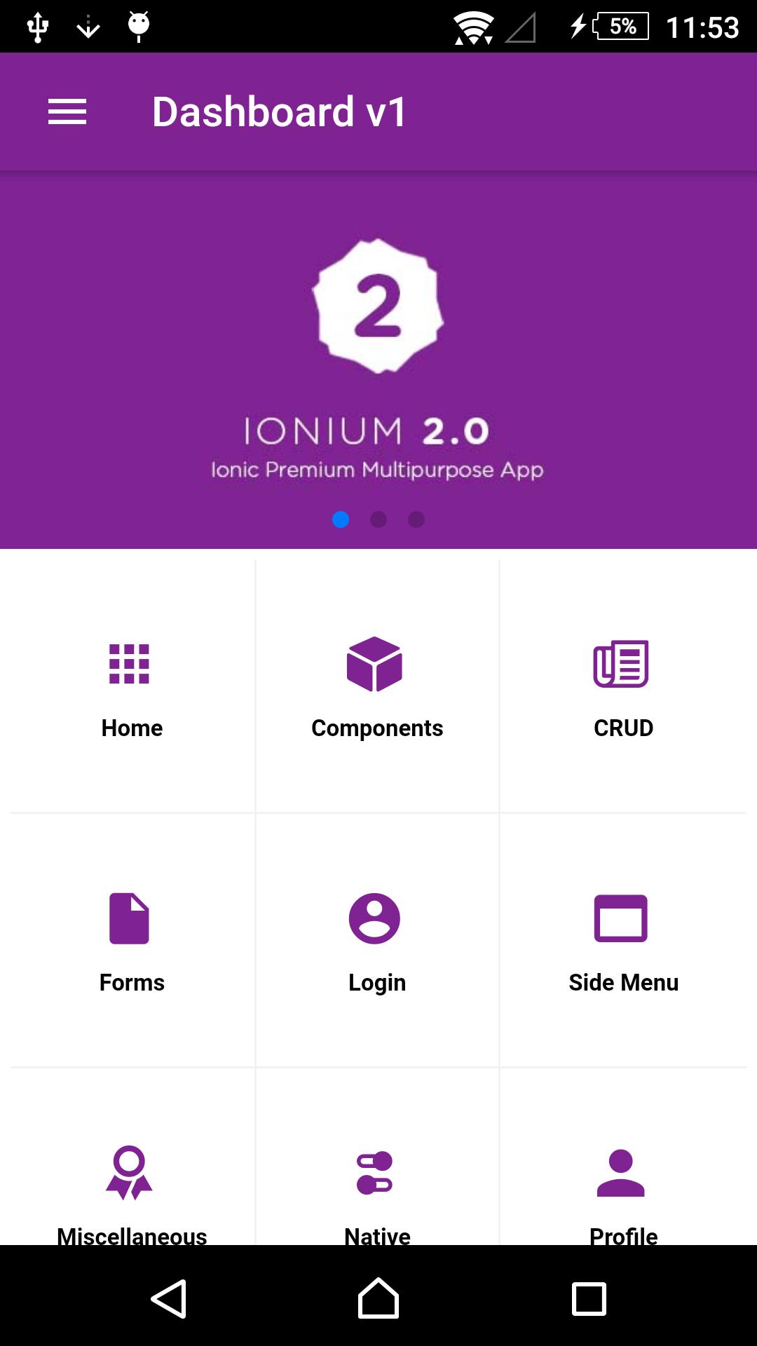 Ionium-2-ionic-multipurpose-app-templates - Ionic Marketplace
