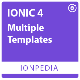 Ionpedia - Ionic 4 Native Android UI Templates Cooking, Shopping, Education