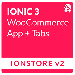 Ionstore 2 Tabs - Ionic Premium WooCommerce App for Android and iOS