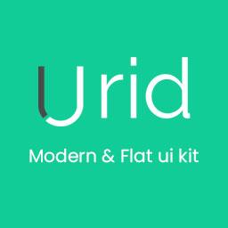 Jird - Modern  Flat ui kit