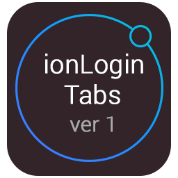 Login and registration with Tabs