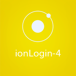 Login4 - Ionic Login Component