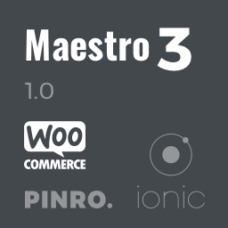 Maestro  Ionic 3 E-Commerce App with WooCommerce, PayPal, Stripe