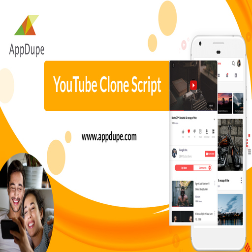 Make your presence on the internet with a video streaming app like Youtube