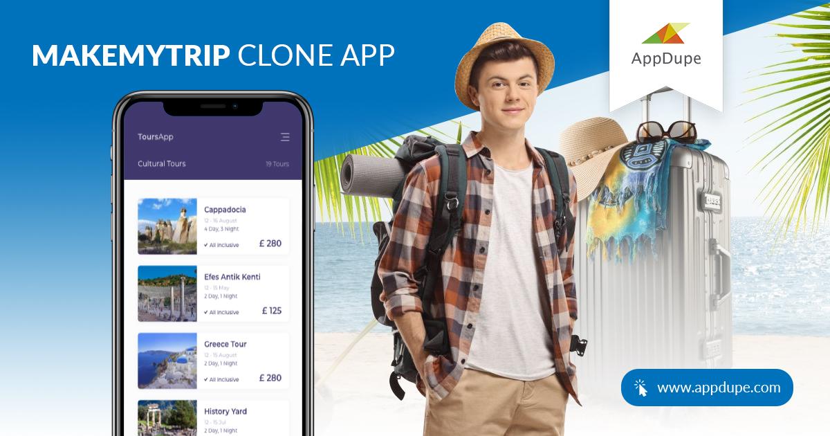 MakeMyTrip Clone App