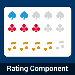 Modern Rating Component as Web Component Built with Stencil.js