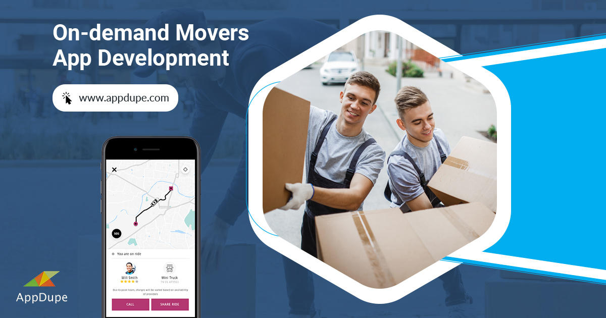 On-demand Movers app
