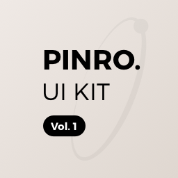 Pinro UI Kit vol.1 - Login / Signup
