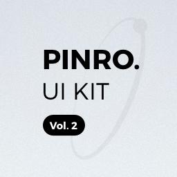 Pinro UI Kit vol.2 - Walkthrough / On-Boarding