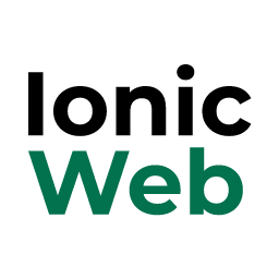 Professional Ionic Landing Page Web Template