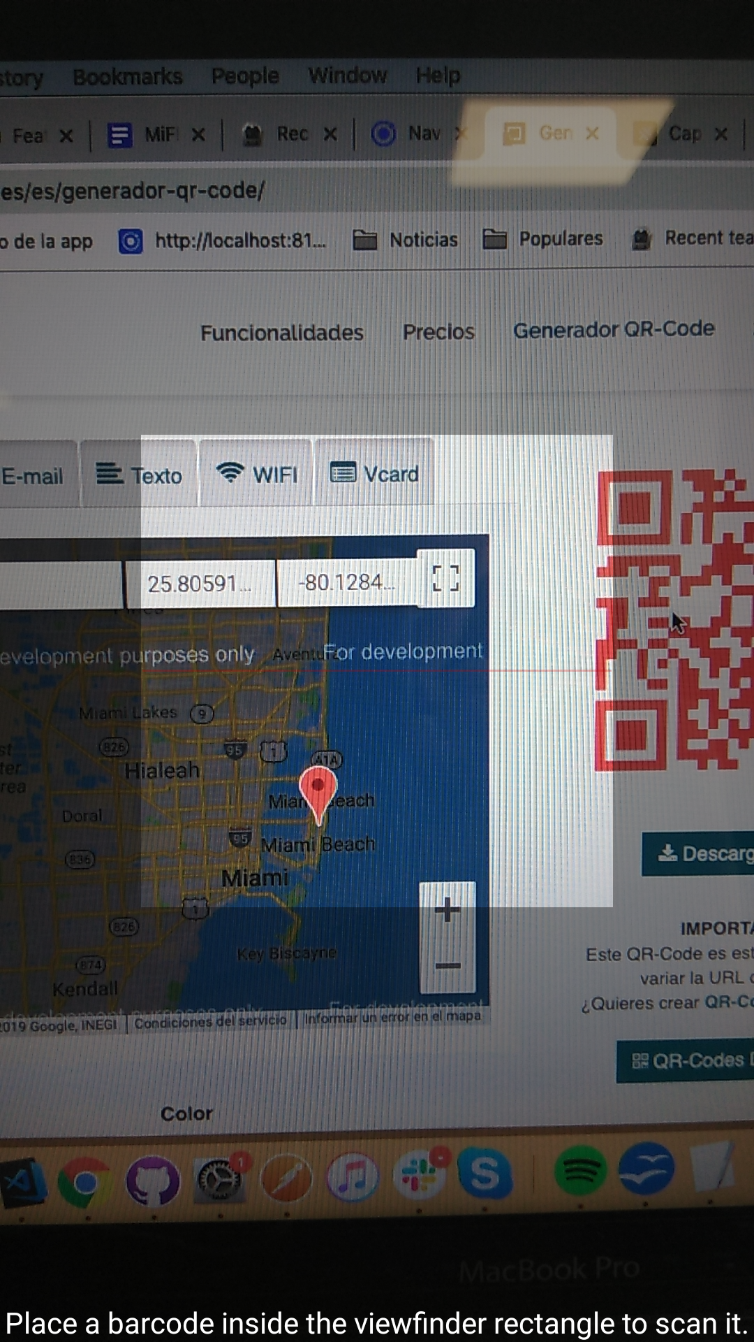Qr-scanner-with-mapbox-and-send-file-csv - Ionic Marketplace