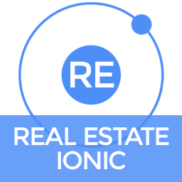 Real Estate Ionic - Full Application with Firebase and Backendless backend