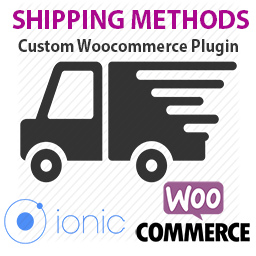 Shipping Methods for Woocommere API endpoints using IONIC