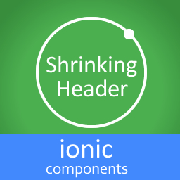 Shrinking Header