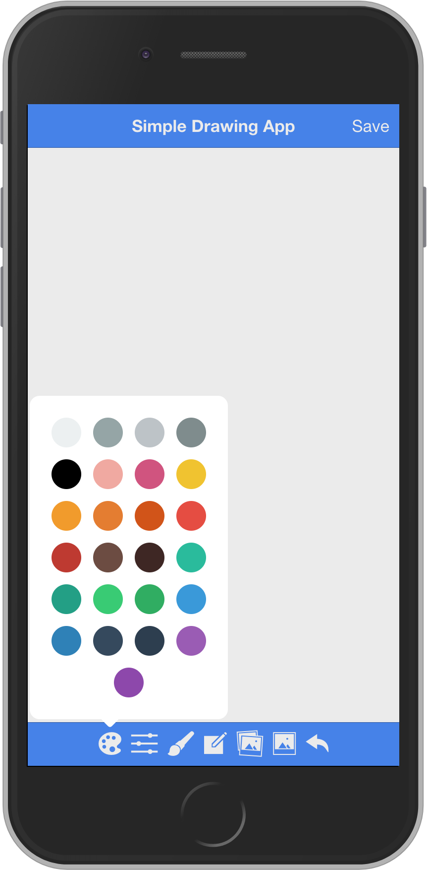 Simple-drawing-app-starter - Ionic Marketplace