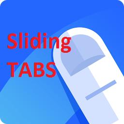 swiped tab