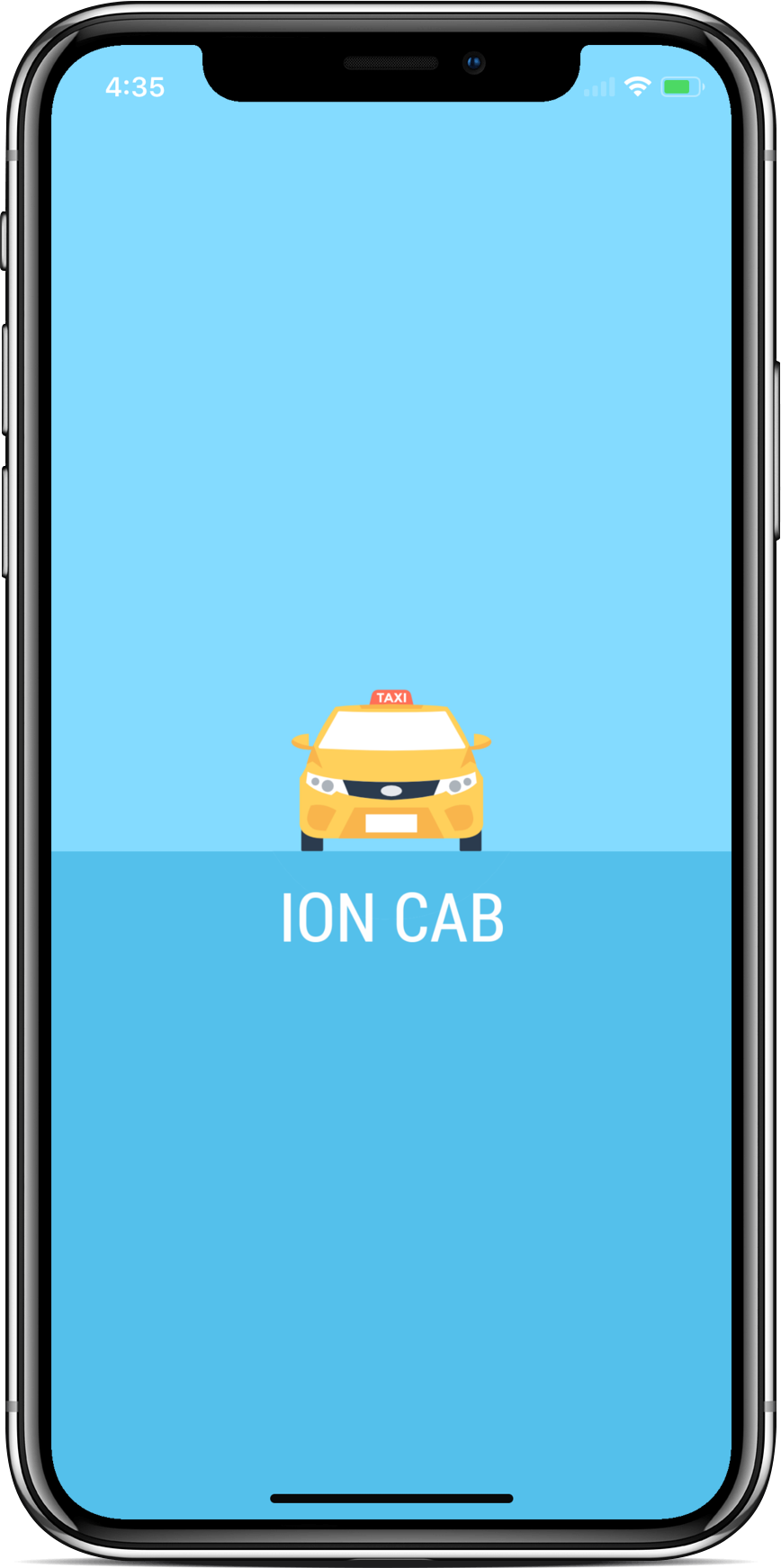 Taxi-booking-app-complete-ui - Ionic Marketplace