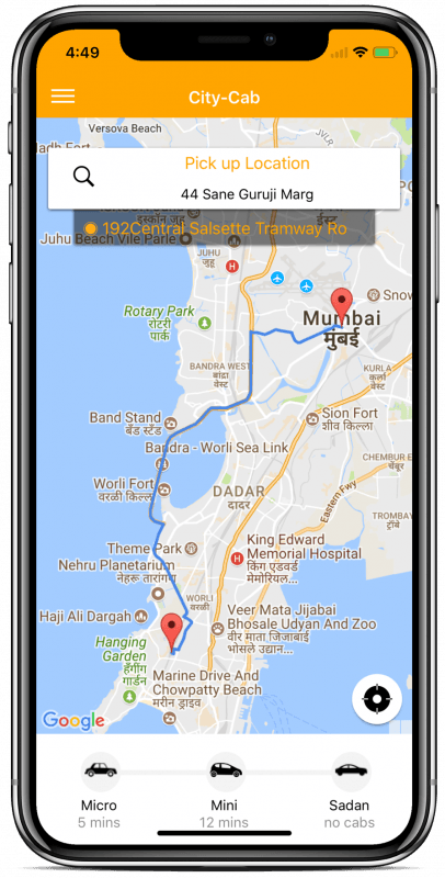 Taxi-booking-complete-platform-ionic-4 - Ionic Marketplace