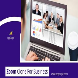 The zoom meetings clone app assures no breakdown while sharing content