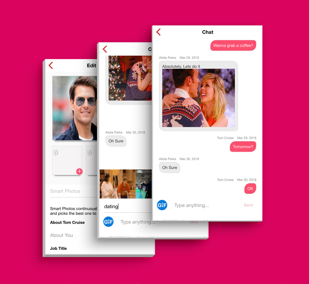 Ios dating app template
