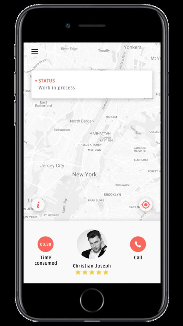 Uber for Roadside Assistance app