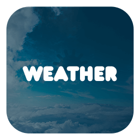 Weather - ionic 4 template