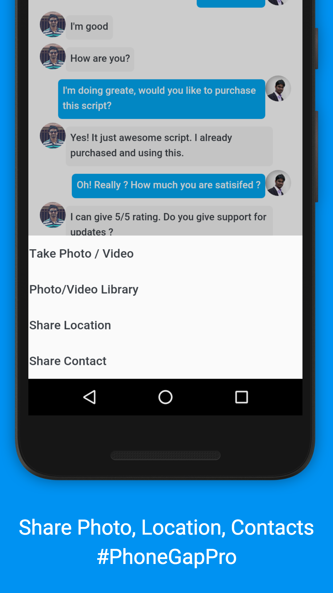how to create new contacts in watsup messenger