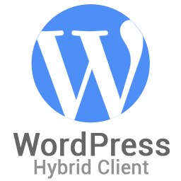 WordPress Hybrid Client
