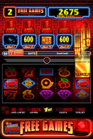 Code red slot machine online gambling bingo game