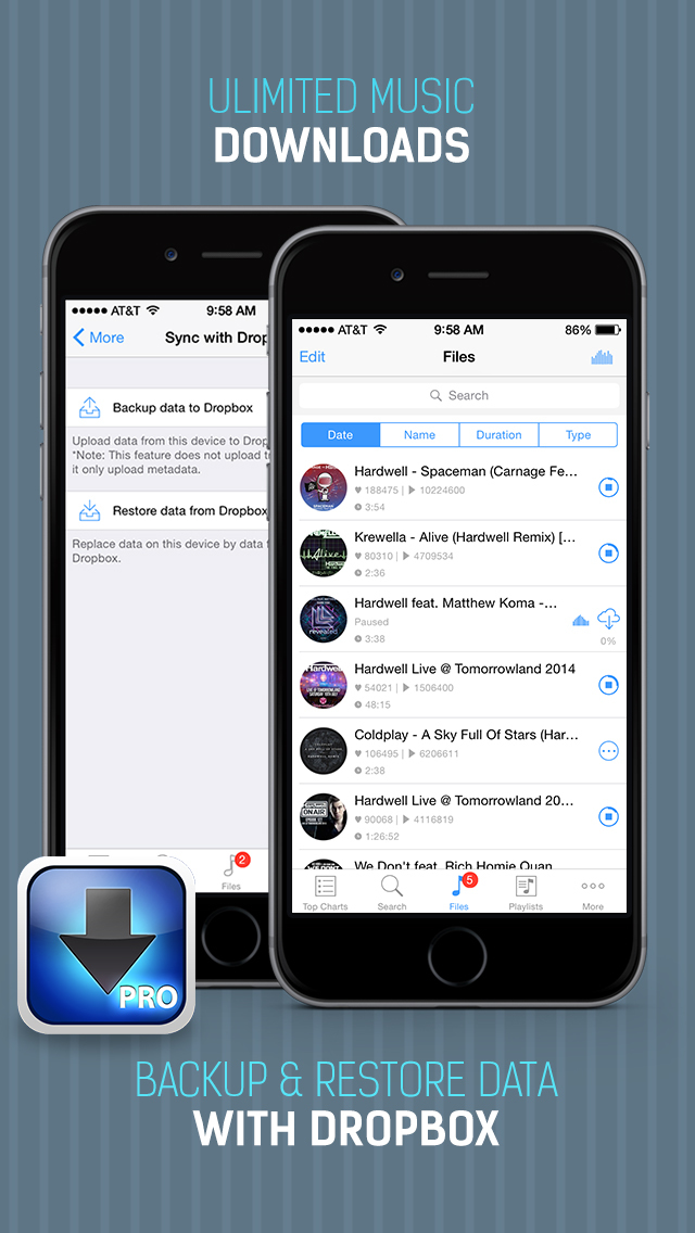 iDownloader Pro - Music Downloader and Download Manager | MixRank