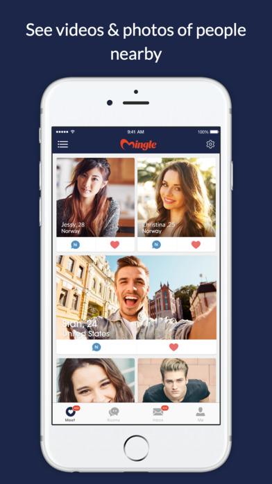 Mingle dating app beroemdheden dating fans