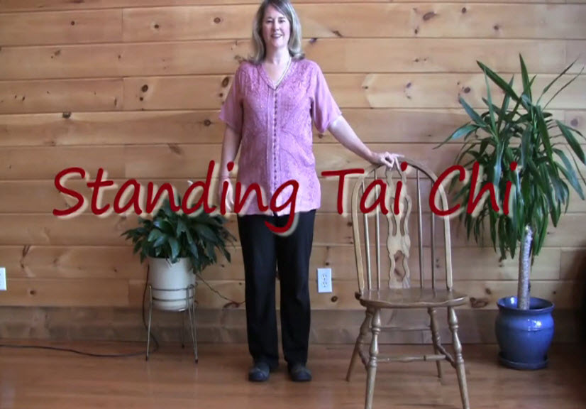 Tai Chi Movements 8 – Standing with support