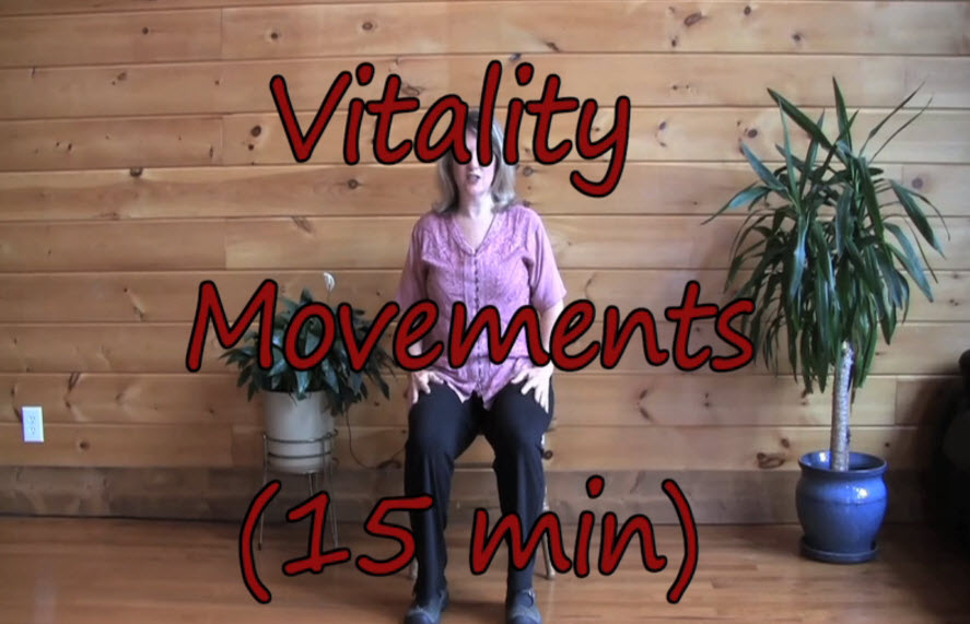 Vitality Exercises – Sitting Learn the Movements