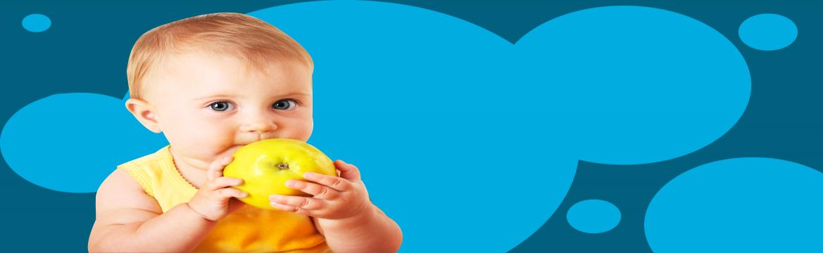 BLW como método de introdução alimentar para bebês