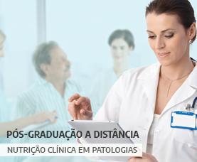 Pós-graduação EaD em Nutrição Clínica em Patologias