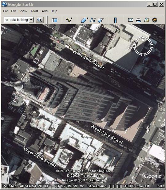 Google Earth - CLC Definition on