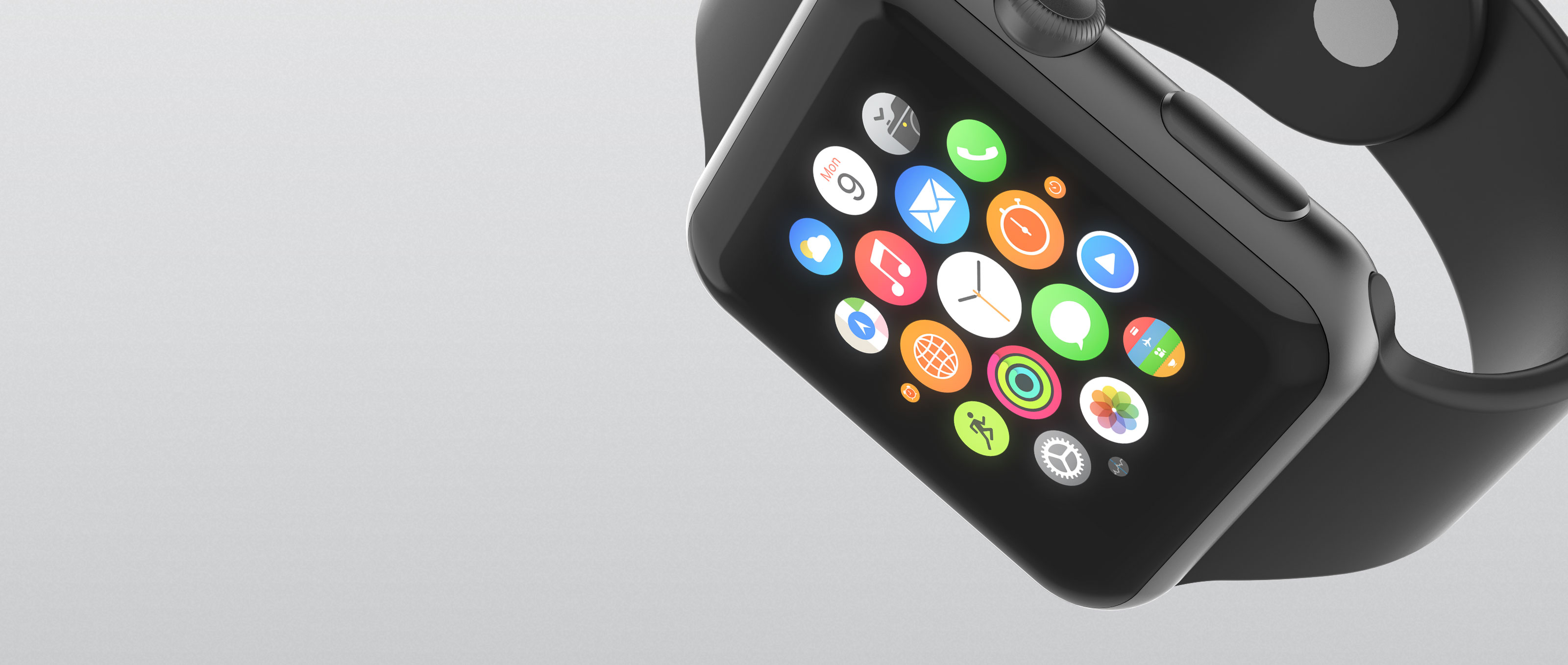 Apple Watch Floating Large