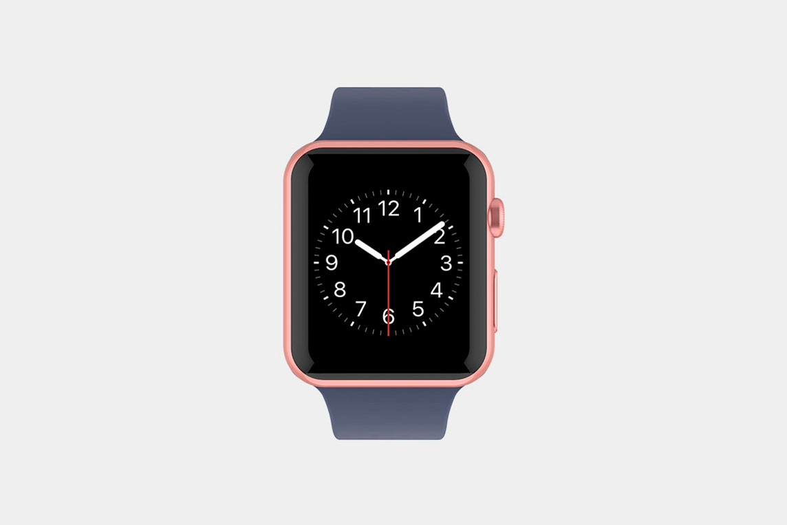 Apple Watch Top View