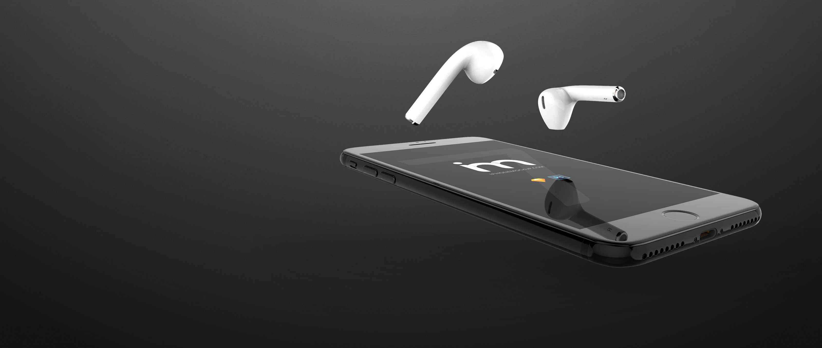 iPhone-7-Earpods-Mockup-Dark