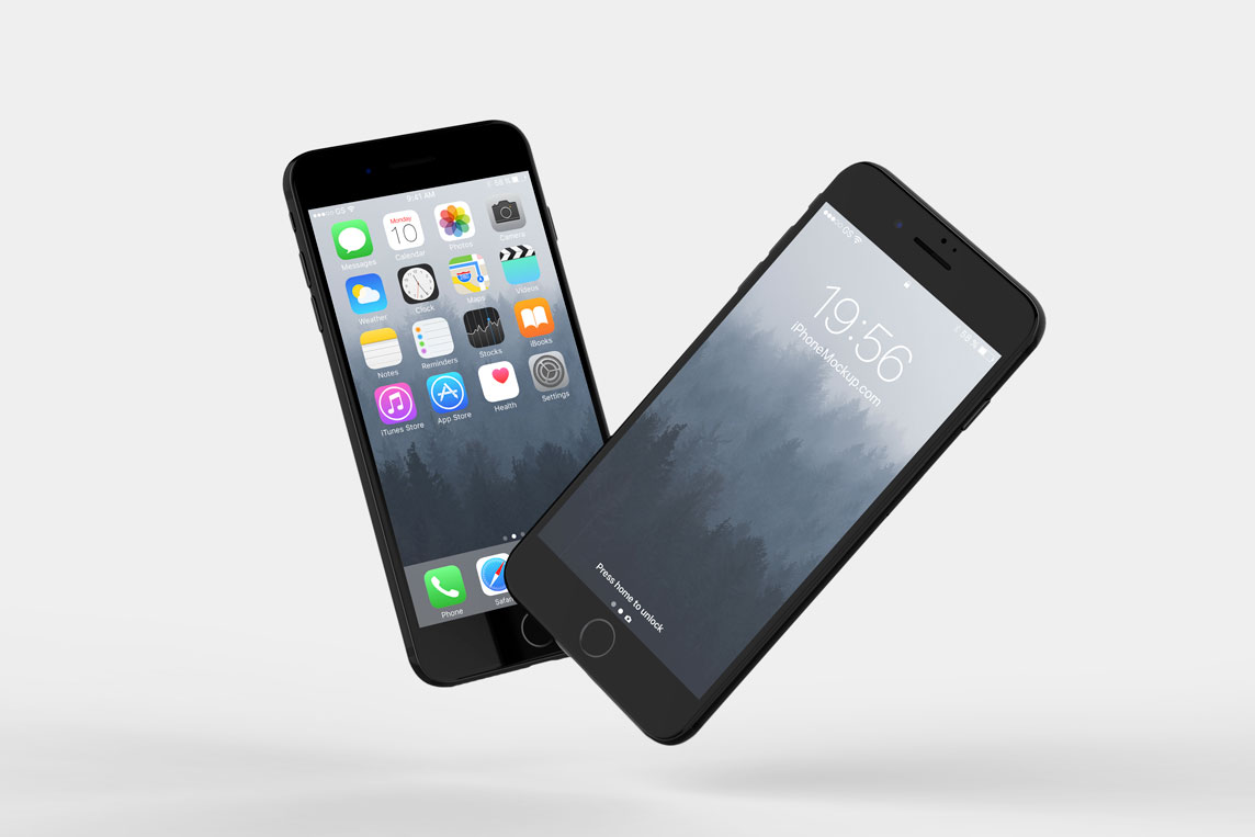 Floating iPhone 7