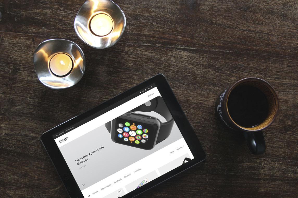 iPad and iPhone 5 Mockups