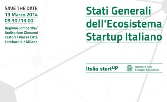 STATI GENERALI DELL'ECOSISTEMA STARTUP ITALIANO