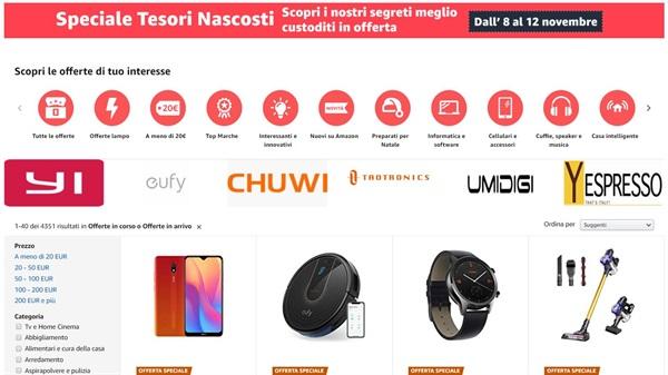 Amazon.it annuncia il suo primo speciale Tesori Nascosti